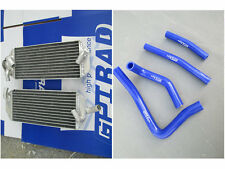 L&R for Suzuki RM250 RM 250 1999 2000 aluminum alloy radiator + hose