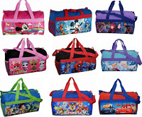 Little Kids Duffel Duffle bag Sleep Over Night Travel Carry On Gym Gift School
