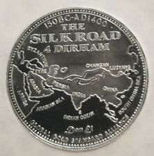 .999 Silver The Silk Road 4 Dirham Silver Coin Jesus of Nazereth body of Christ.
