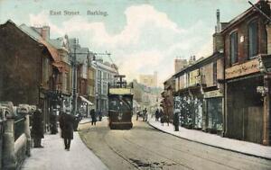1907 BARKING  East Street LONDON  Worricker  Postcard