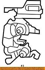4589277AL, Jeep CHRYSLER OEM 07-17 Wrangler Front Door-Lock Actuator Motor