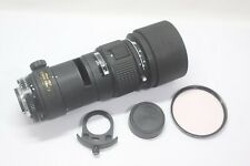 Excellent Nikon AF Nikkor ED 300mm F/4 Ai-S Lens Made In Japan