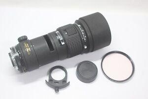Excellent Nikon AF Nikkor ED 300mm F/4 Ai-S Lens Made In Japan