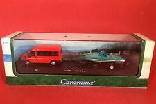 Cararama Hongwell 1/72 Ford Transit Mini Bus & Boat Set No127 MIB