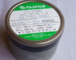 Bulk roll 70mmx100ft slide film - Fujichrome CDU Type II - sealed E6 - FROZEN