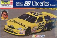 Revell Monogram 1:24 Johnny Benson #26 Cheerios Taurus NASCAR Kit #85-2553U