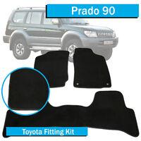 TO FIT: Toyota Prado 90 Series - (1996-2003) - Tailored Car Floor Mats