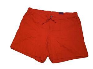Lane Bryant Linen Shorts Womens Plus Size 24 Red NWT (Sho091.3)