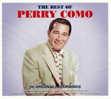 PERRY COMO - THE BEST OF - 50 ORIGONAL RECORDINDS  (NEW SEALED 2CD)