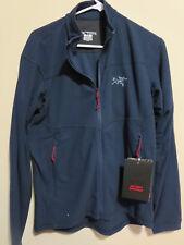 Mens New Arcteryx Delta Jacket Size Small Color Admiral