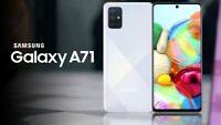 SAMSUNG GALAXY A71 ( A715F ) 128 GB 6 GB RAM SILVER 6.7 INCH 64 MP NEW DUAL SIM
