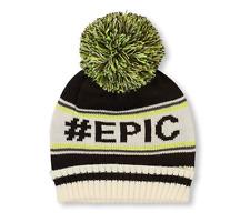 Boys '# EPIC'  Pom Pom Beanie HAT size L/XL (8+YR)