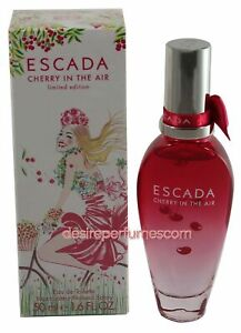 ESCADA CHERRY IN THE AIR LIMITED EDITION 50ML EDT WOMEN NEW SEALED BOX.