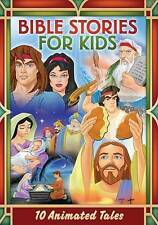 Bible Stories for Kids: 10 Animated Tales (DVD, 2015, 2-Disc Set) New