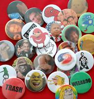 Large selection of Meme Badges Badge 38mm funny internet gaming