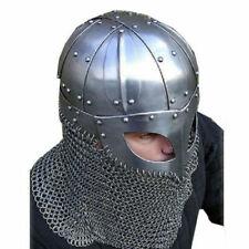 Wikingerhelm Neue historische nautische mittelalterliche Kampfrüstung Stahl & Ke
