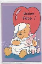NEUF CARTE BONNE FETE + ENVELOPPE  !! 10 CARTES ACHETEES = PORT GRATUIT  WINNIE