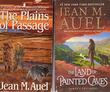 Complete Set Series - Lot of 6 Earth's Children Books by Jean M. Auel