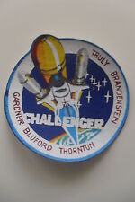 Nasa Challenger patch sew on space