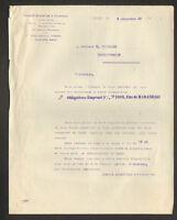 "PARIS (VIII°) BANQUE ""ARGENTINE & FRANCAISE"" Emprunt ETAT de MARANHOA 1910"