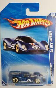 Mattel Hot Wheels HW Garage 2010 Ferrari 330 P4 Blue 084/214 # R7501-0816
