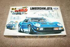 TILT TOKYO MARUI 1/24 MOTORIZED LAMBORGHINI JOTA CANNONBALL RUN MODEL KIT!