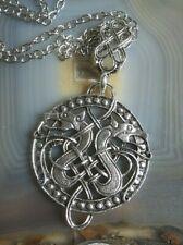 keltisches drachen amulett aus edelstahl mit gratiskettchen