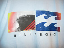Billabong Side by Side T shirt Tee NWT L Coastal Blue