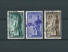 ITALIE - 1949 YT 539 à 541 - TIMBRES OBL. / USED