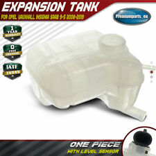 Radiator Coolant Expansion Tank w/ Sensor for Opel Vauxhall Insignia Saab 9-5