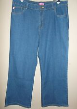 Woman Within Brand. Blue Jeans Size 18 Womens Petite  (18WP) Straight Legs