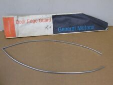 NOS PONTIAC LEMANS GRAND AM GTO DOOR EDGE GUARDS 1973 1974 1975 1976 1977 24