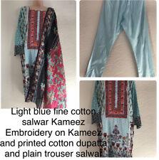 pakistani indian cotton salwar kameez printed cotton big dupatta readymade suit