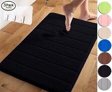 Memory Foam Absorbent Soft Bath Mat Floor Rug Carpet Bedroom Non Slip Back Pad