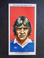 The Sun Soccercards 1978-79 - Bill Garner - Chelsea #807