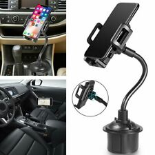 Universal Car Mount Adjustable Gooseneck Cup Holder Cradle for Mobile Cell Phone