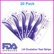 20 Pack Early Ovulation HL Test Strips FDA Approved US Seller NEW