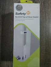 Safety 1st No Drill Top Of Door Guard Baby Safety ~Brand New ~Shipn24 ~