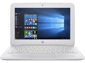 """HP Stream 11-y012nr 11.6"""" Laptop Intel Celeron N3060 4GB 32GB eMMC - X7V33UA#ABA"""