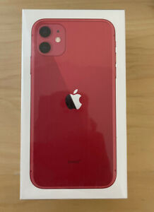 Apple iPhone 11 - 256GB -red  (Unlocked) 1 Year Apple Warranty BRAND NEW SEALED
