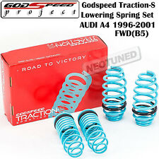 GODSPEED TRACTION-S LOWERING COIL SPRINGS SUSPENSION FOR AUDI A4 96-01 FWD B5