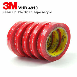 CLEAR 3M VHB™ DOUBLE SIDED Self Adhesive Sticky TAPE Acrylic Mounting Foam, 4910