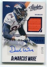 2014 Absolute Tools of Trade Signatures Purple DeMarcus Ware Jersey Auto 11/20
