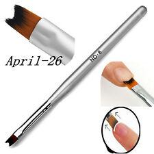 1Pc Pinceau Brosse Acrylique Gel UV French Peinture Dessin Manucure Pen Nail Art