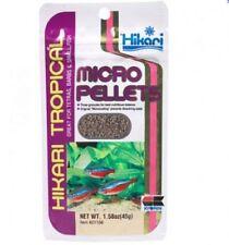 Hikari Tropical Fish Food Micro Pellets Various Sizes 45-Gram