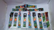 JOB LOT NOS VINTAGE PLASTIC/RESIN REPLACEMENT STRAP FOR SWATCH.& IRONY CASES