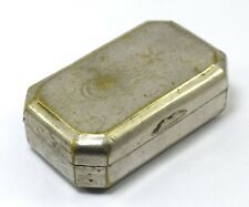 Collectible Unique Islamic Trinket Box Made In Japan – Small Brass Box G7-922 US