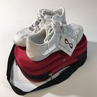 Nfinity Adult Evolution Cheer Shoes Womens Size 7.5 WHITE