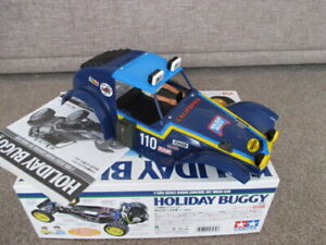 Tamiya Holiday Buggy 58470 DT-02 Painted Body Shell Stickers Decals