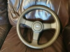 Ford Escort RS Turbo S1 Series 1 3 Spoke Steering Wheel